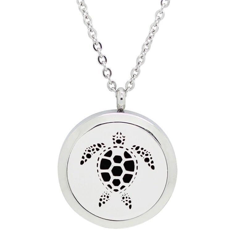 Aromatherapy Locket - Turtle