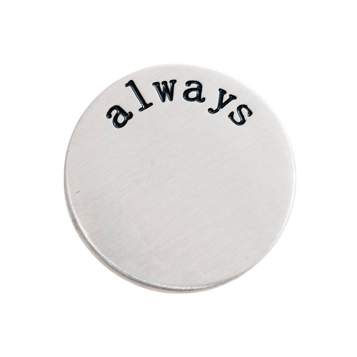 Back plate for use with large Memory Lockets - 'always'