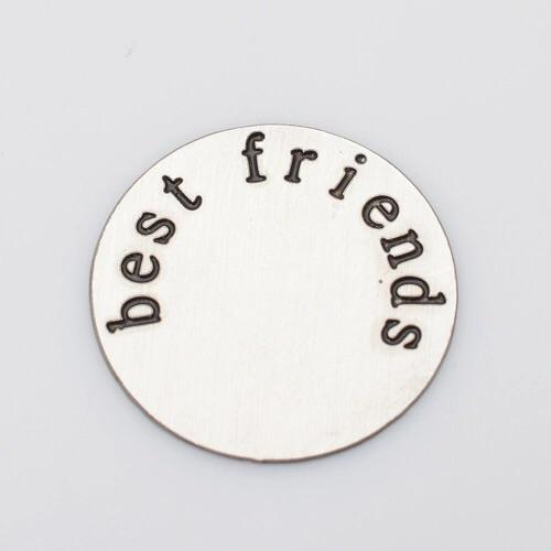 Back plate for use with large Memory Lockets - 'Best Friends'