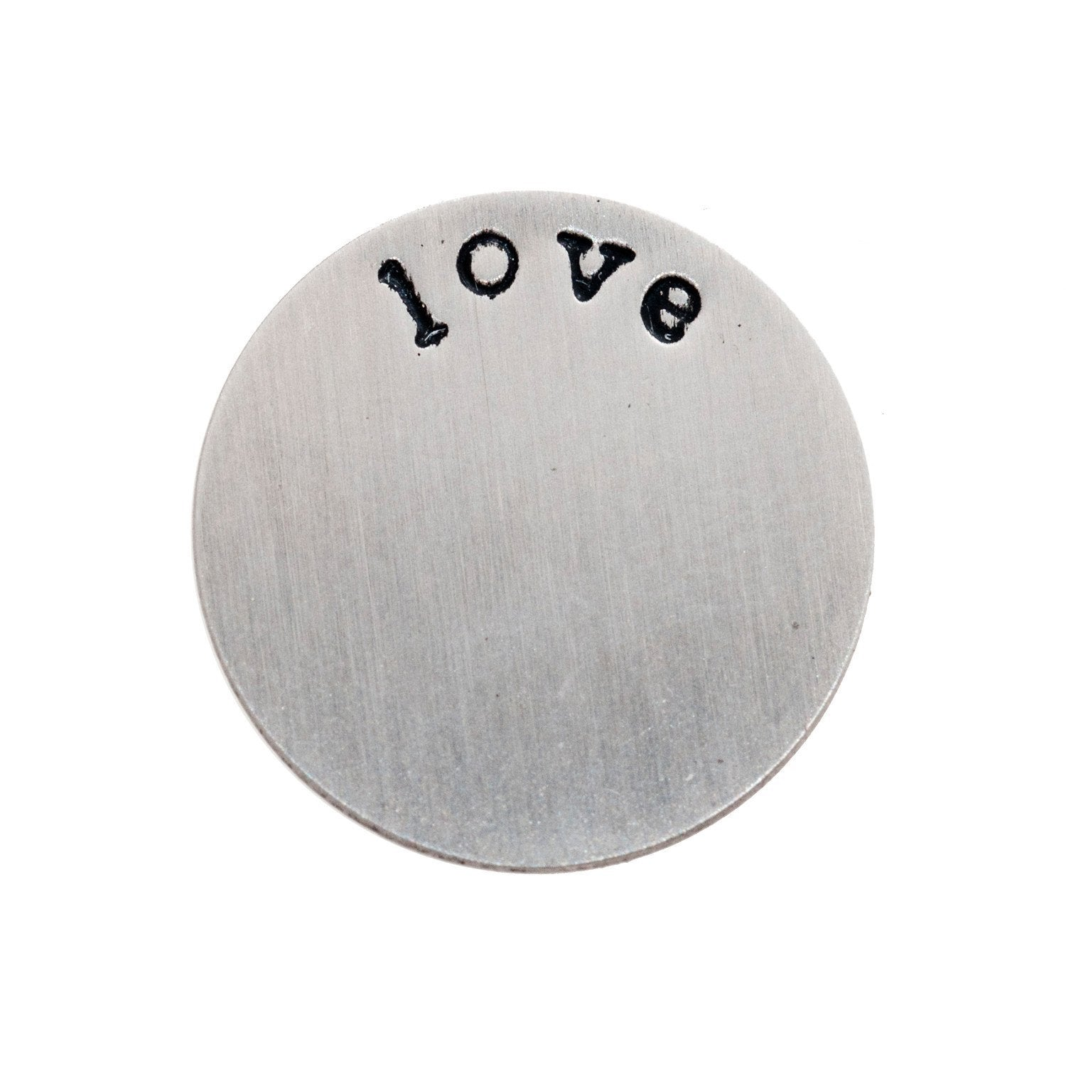Back plate for use with medium lockets – 'love'