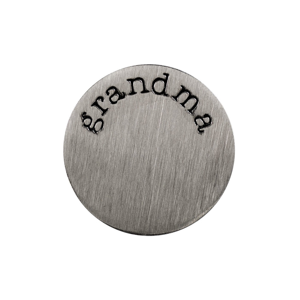 Back plate for use with medium Memory Lockets - Grandma - Your Locket