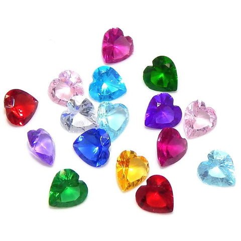 Birthstone Crystal Heart (Click to view all months)
