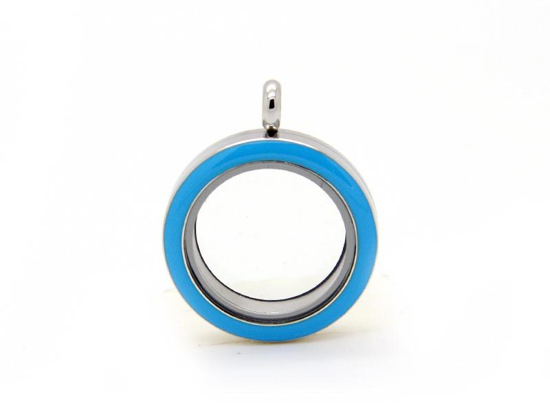 Memory Locket Blue - Medium