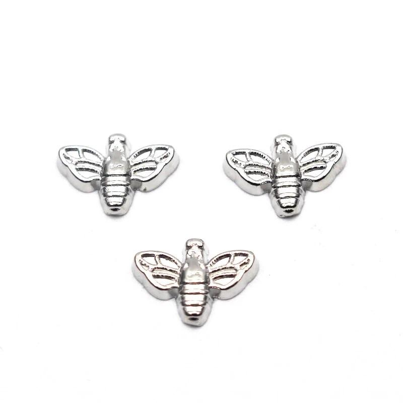 Memory Locket Charm - Bee (silver) - Your Locket