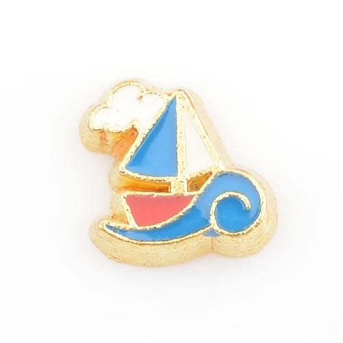 Memory Locket Charm - Boat