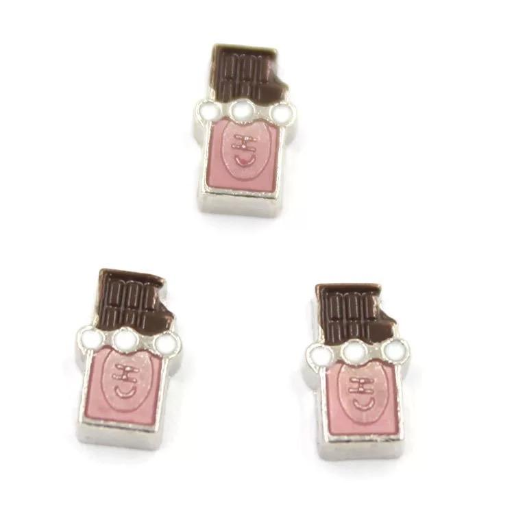 Memory Locket Charm - Chocolate