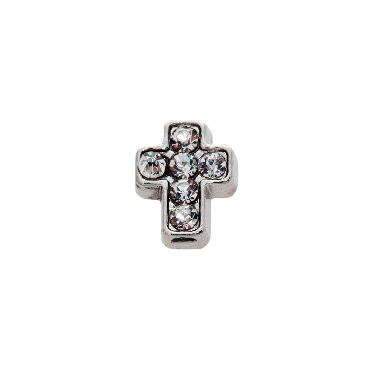 Memory Locket Charm - Cross