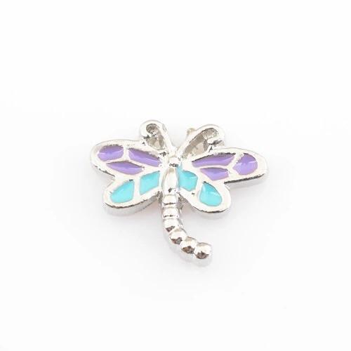 Memory Locket Charm - Dragonfly - Your Locket