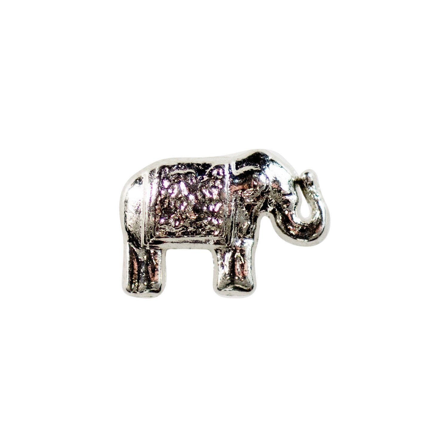 Memory Locket Charm - Elephant