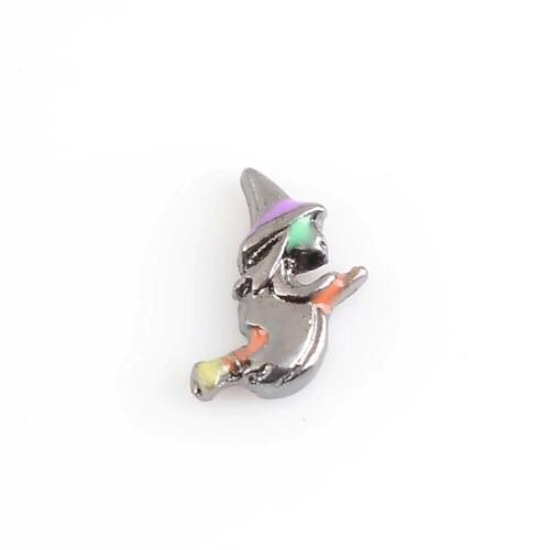 Memory Locket Charm - Flying Witch