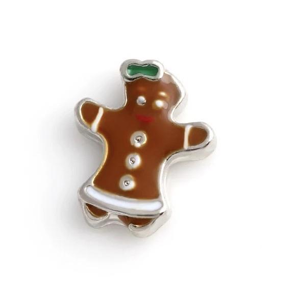 Memory Locket Charm - Gingerbread - Your Locket