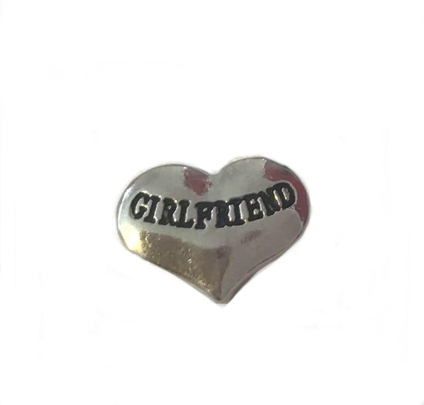 Memory Locket Charm - Girlfriend