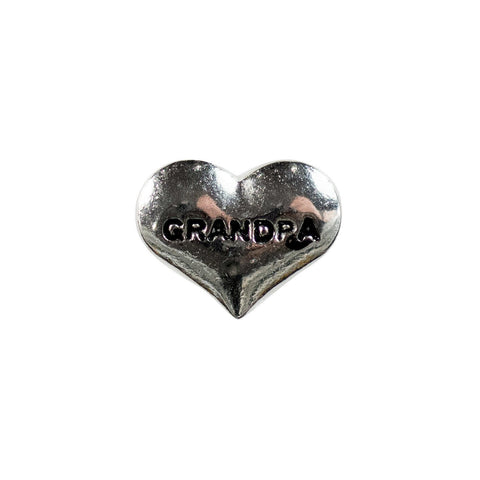 Memory Locket Charm - Grandpa