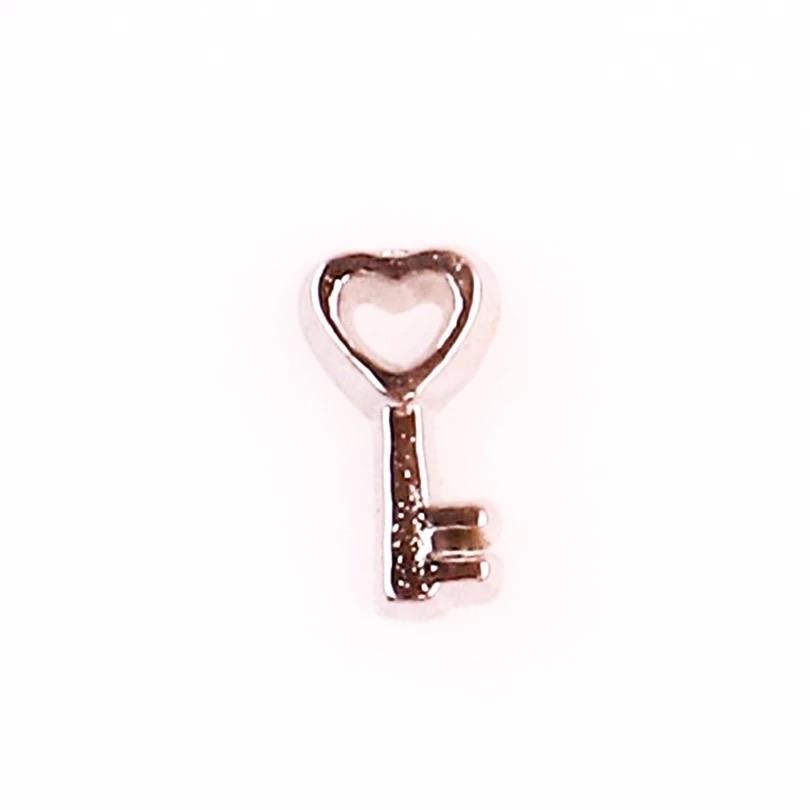 Memory Locket Charm - Key