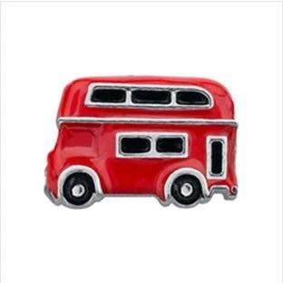 Memory Locket Charm - London bus