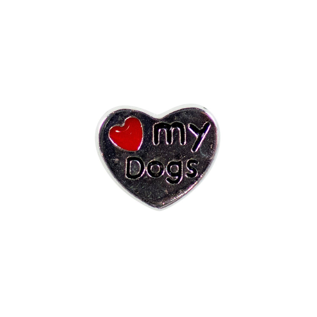 Memory Locket Charm - Love my dogs - Your Locket