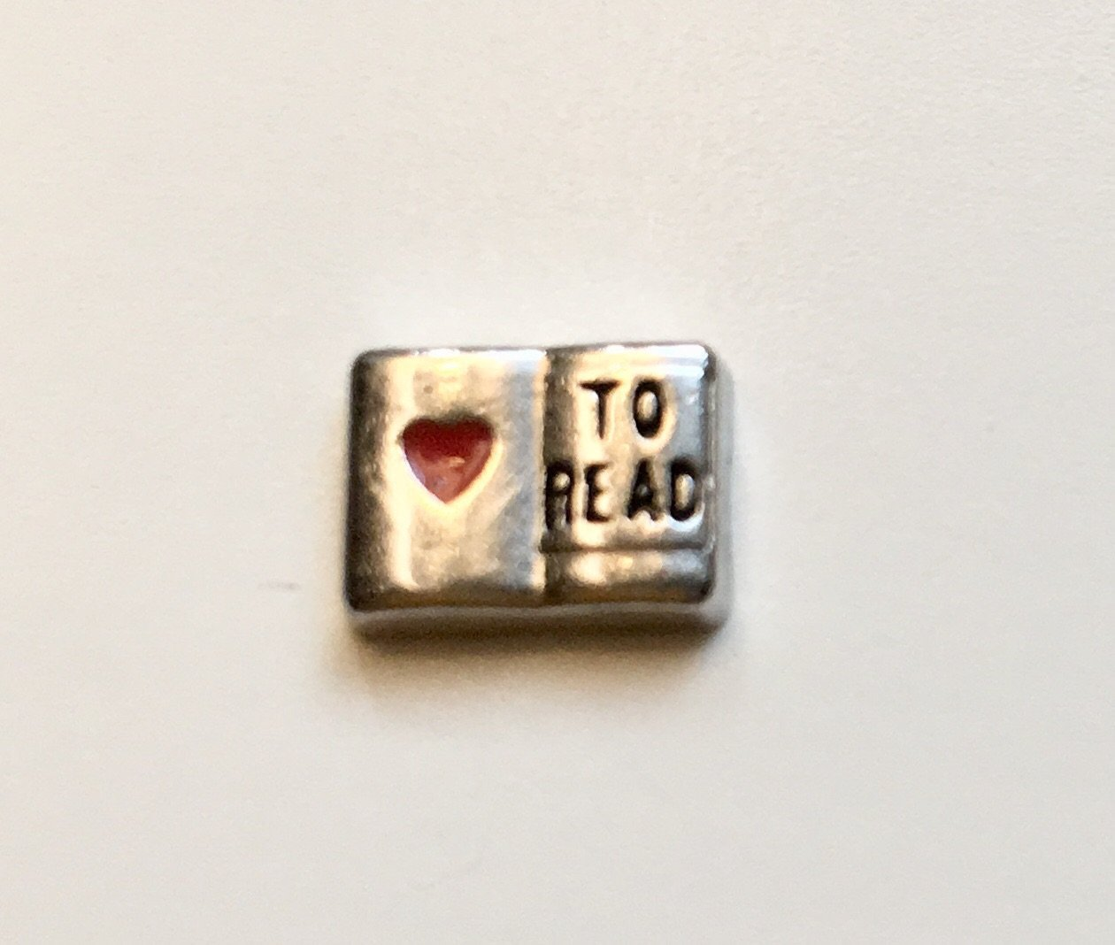 Memory Locket Charm - Love to read