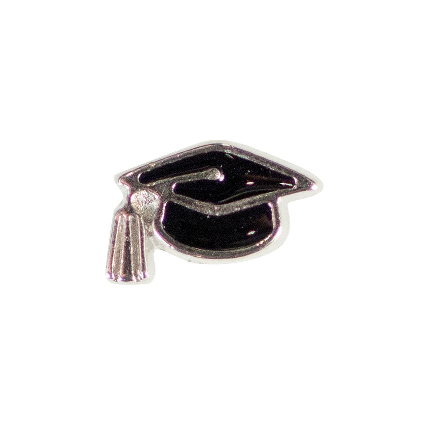 Memory Locket Charm - Mortarboard