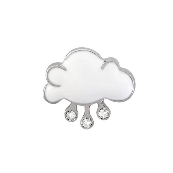 Memory Locket Charm - Rain cloud