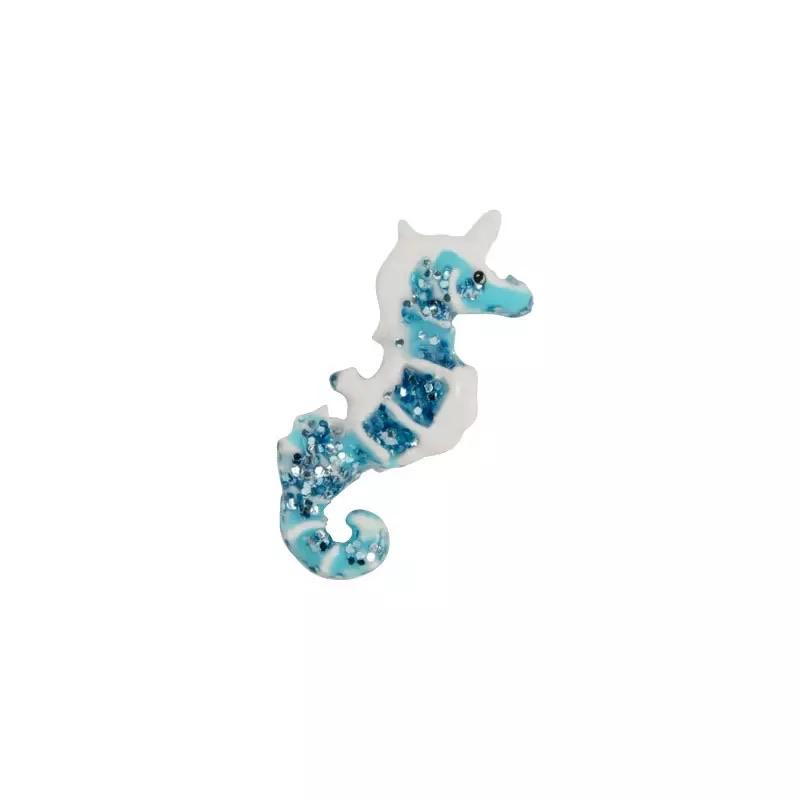 Memory Locket Charm - Seahorse Sparkle - Your Locket