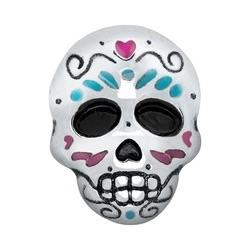 Memory Locket Charm - Sugar skull