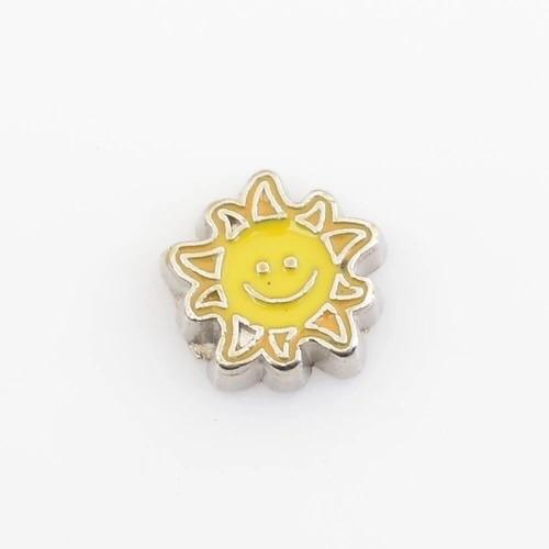 Memory Locket Charm - Sunshine Smile