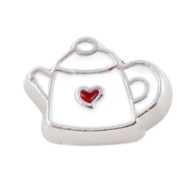 Memory Locket Charm - Teapot - Your Locket