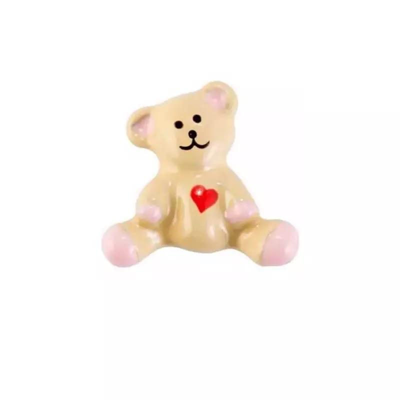 Memory Locket Charm - Teddy Heart