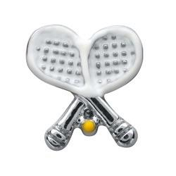 Memory Locket Charm - Tennis