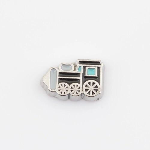 Memory Locket Charm - Train