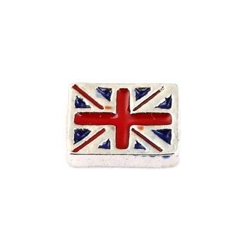 Memory Locket Charm - Union Jack Flag