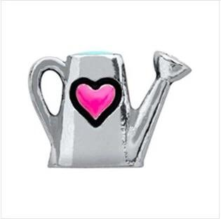 Memory Locket Charm - Watering can