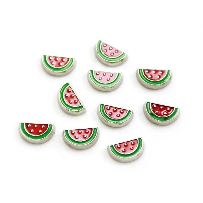 Memory Locket Charm - Watermelon slice - Your Locket