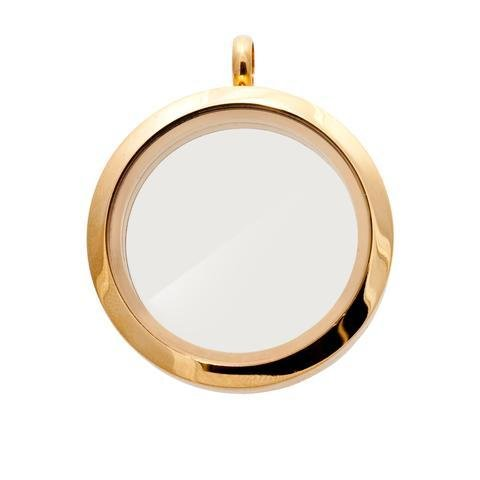 Memory Locket Gold - Medium