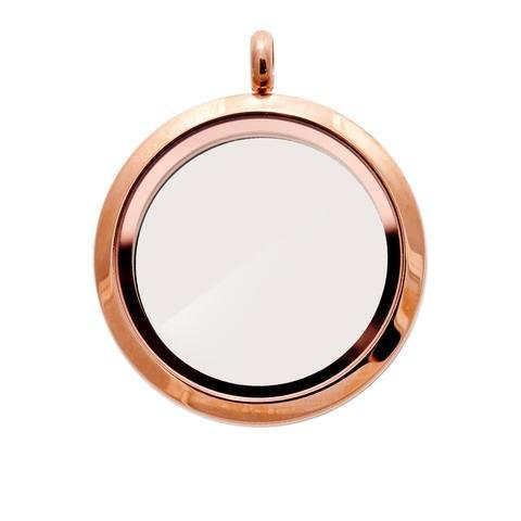 Memory Locket Rose Gold - Large