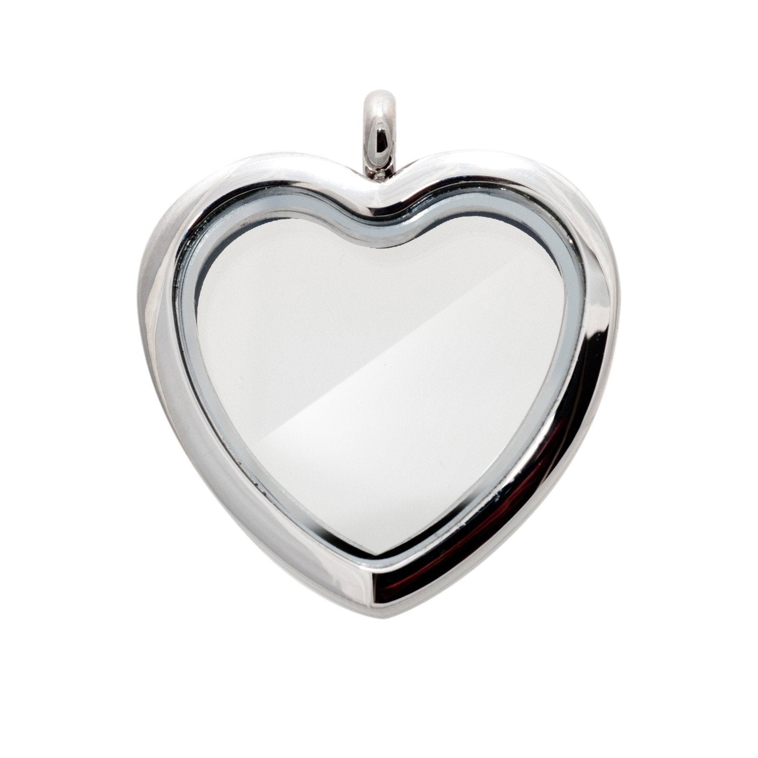 Memory Locket Silver Heart