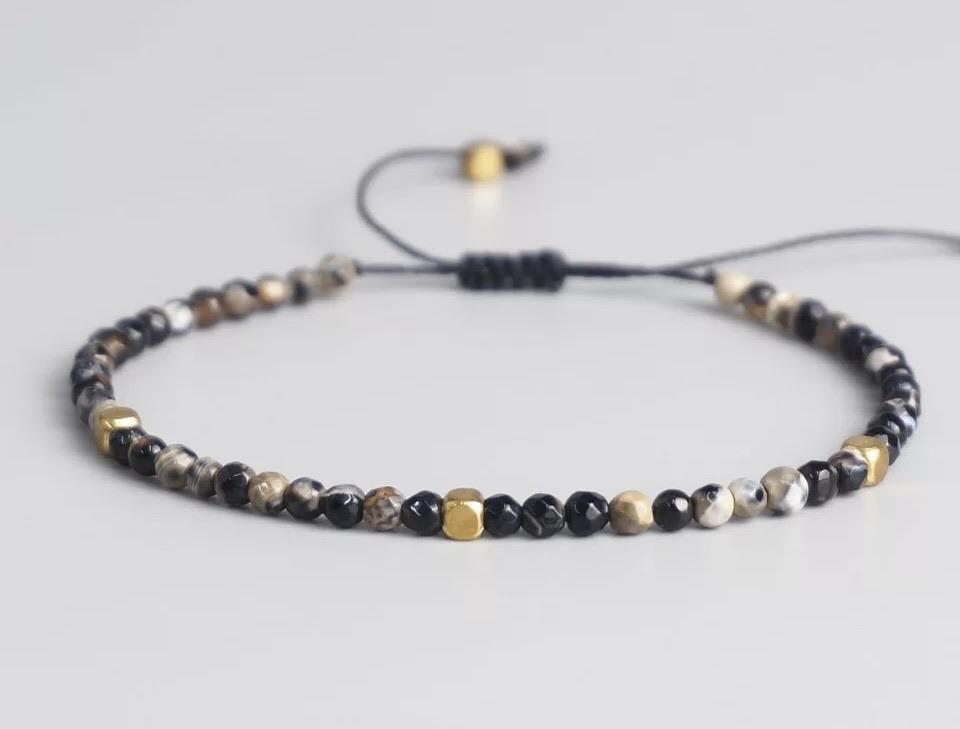 Natural Stone Bracelet - Earth