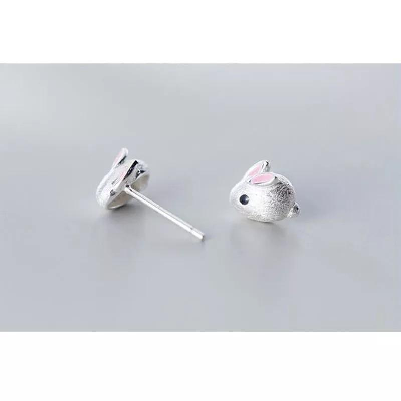 Sterling Silver Earrings - Bunny