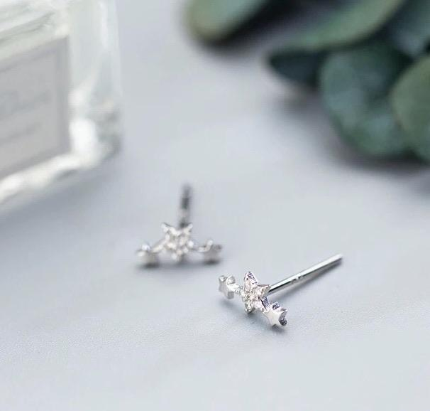 Sterling Silver Earrings - Twinkle - Your Locket