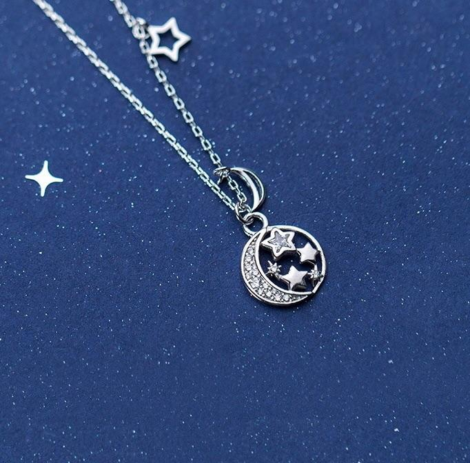 Sterling Silver Necklace - Starlight
