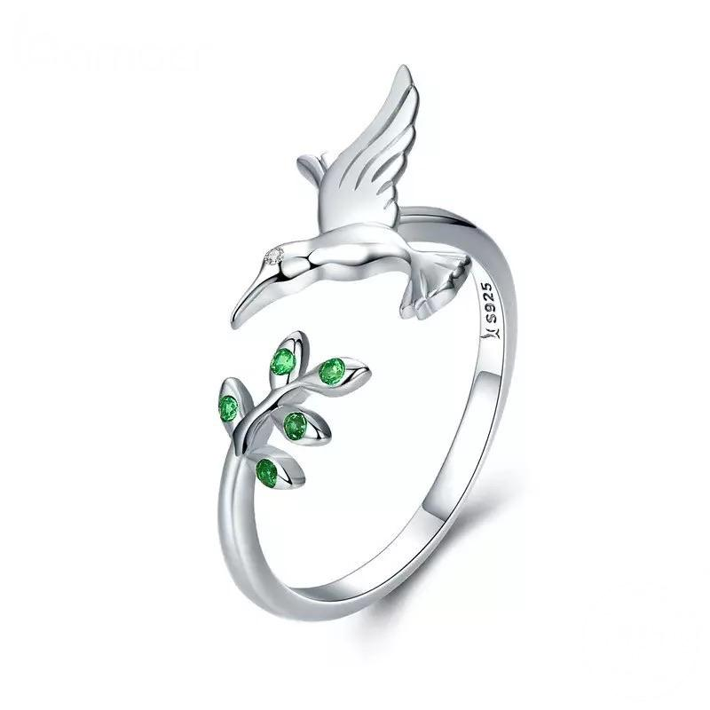 Sterling Silver Ring - Hummingbird