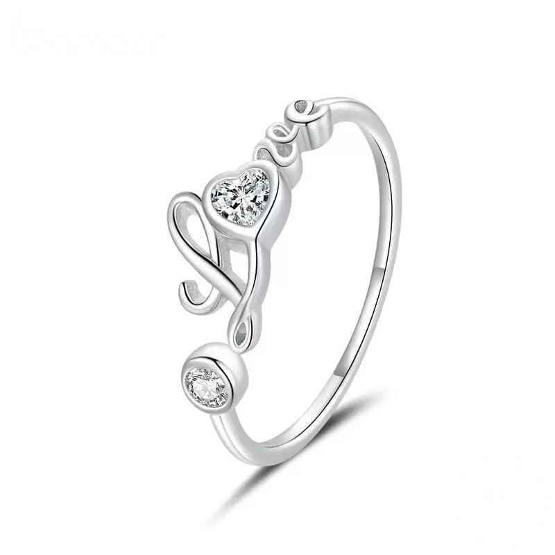 Sterling Silver Ring - Love Shine