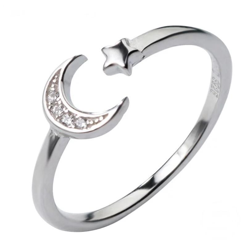 Sterling Silver Ring - Moonlight - Your Locket