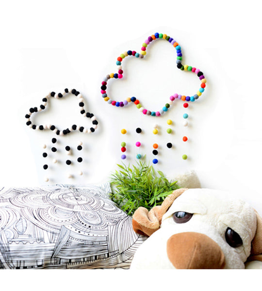 Cloud mobile kids decor