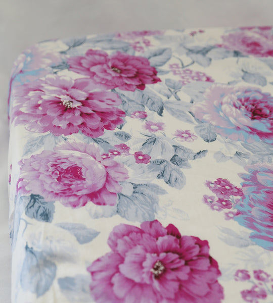 Fitted Cot sheet - Floriana