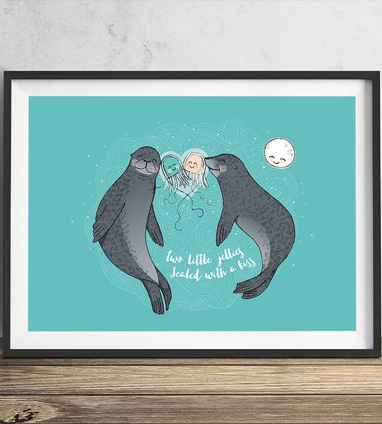 Little Jellies - Seals (A3)
