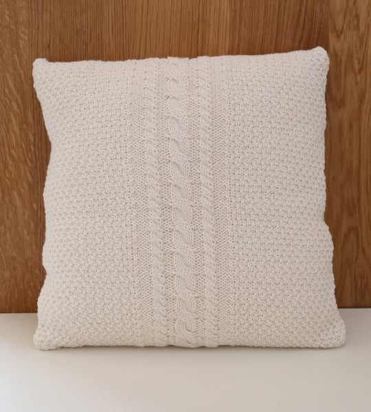 Knit Cushion Cover Nursery Decor