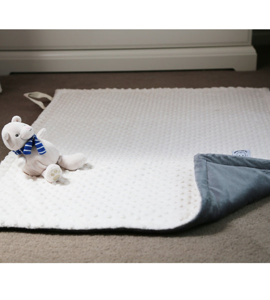 Travelling playmat with handles