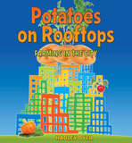 Book cover for Potatoes on Rooftops, by Hadley Dyer