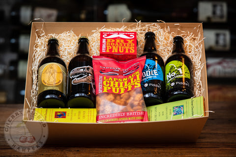 Dorset Ales and Snacks Hamper #2